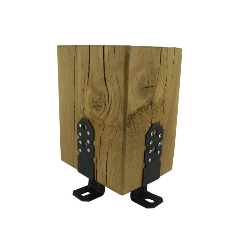pieds de poteaux pour pergolapbp60 50. Black Bedroom Furniture Sets. Home Design Ideas