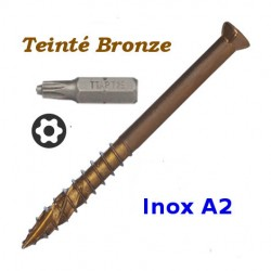 Vis Pour Terrasse Exterieure En Bois - Inox A4